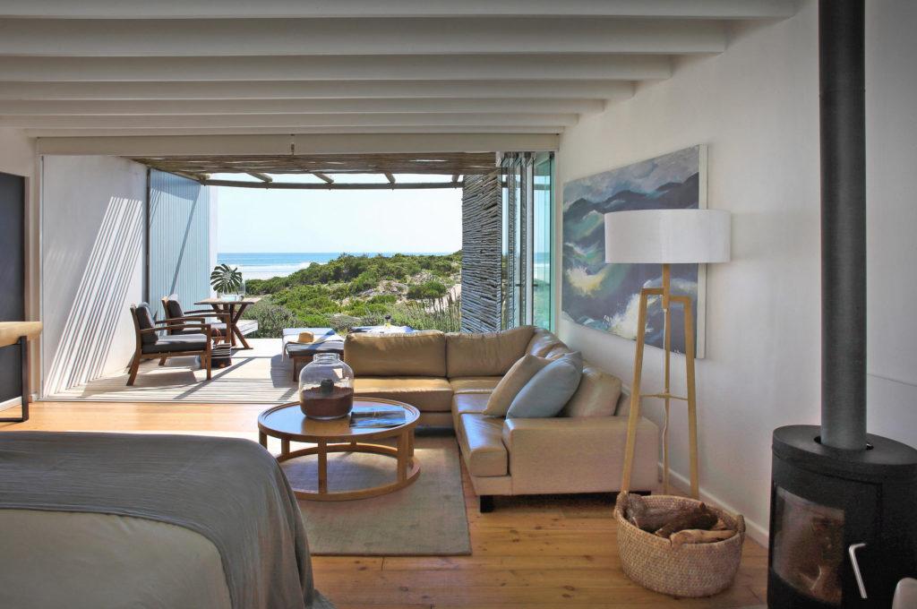 South Africa - Paternoster - Strandloper Ocean Boutique Hotel - Bedroom views