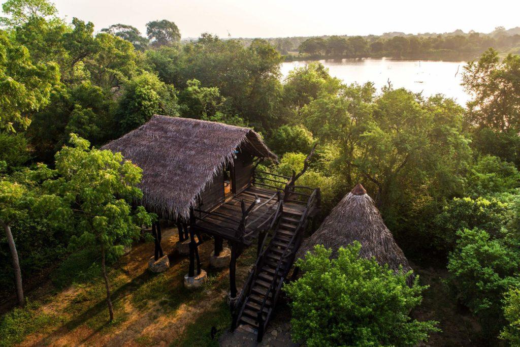 Sri Lanka - Anamaduwa - 1567 - The Mud House aerial view