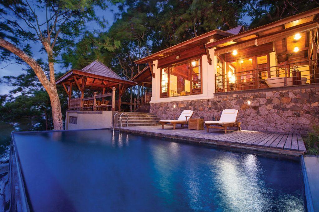 Seychelles - Round Island - 1554 - JA Enchanted Island Resort Plunge Pool