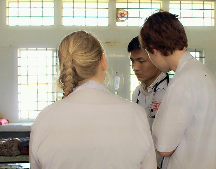 Cambodia Medical Placement Interns