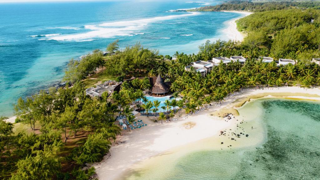 Mauritius - South Coast - 3996 - Shandrani Beachcomber Resort & Spa aerial