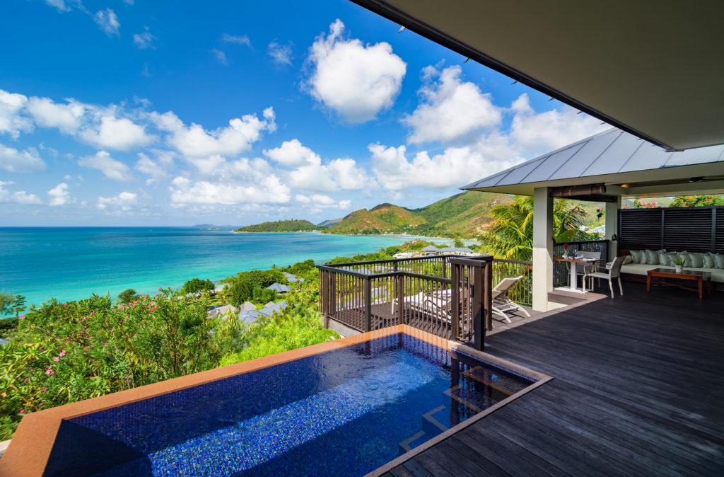 Seychelles - Praslin Island - 1554 - Raffles Praslin Seychelles Plunge Pool