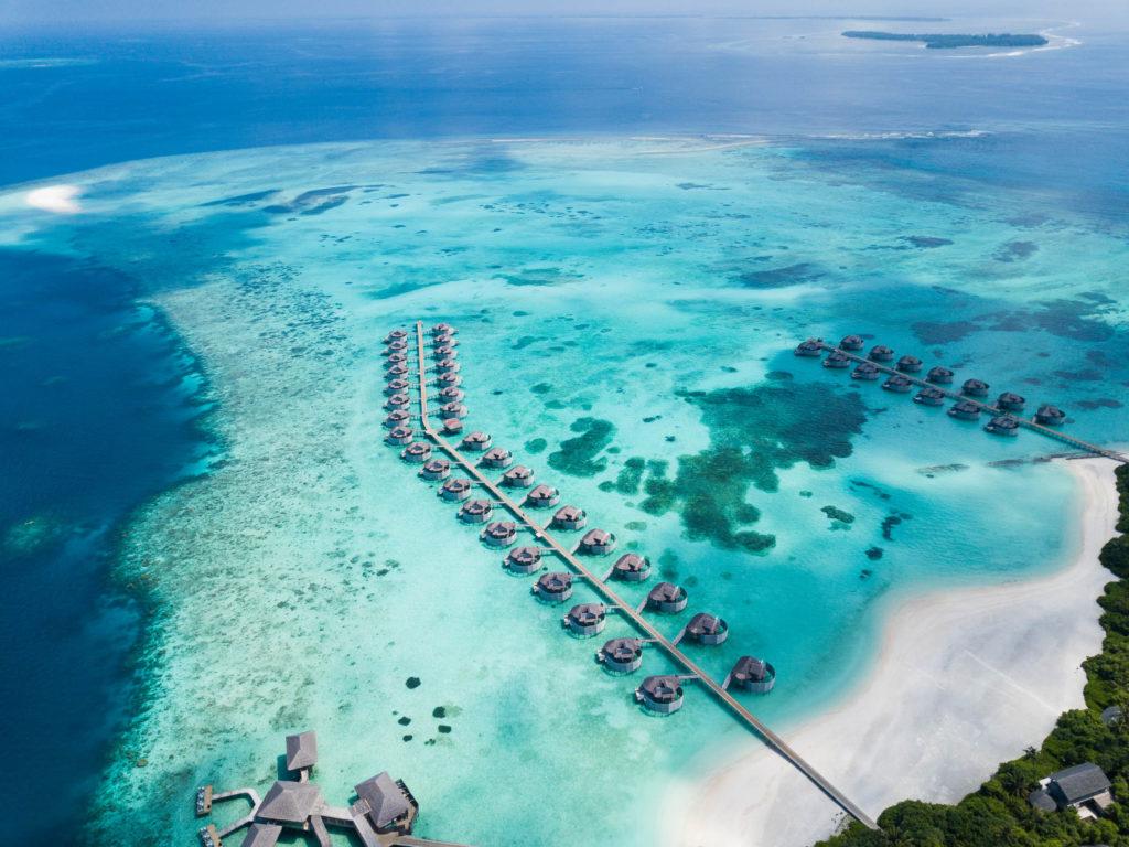 Maldives - Laamu Atoll - 1567 - Six Senses Laamu aerial view