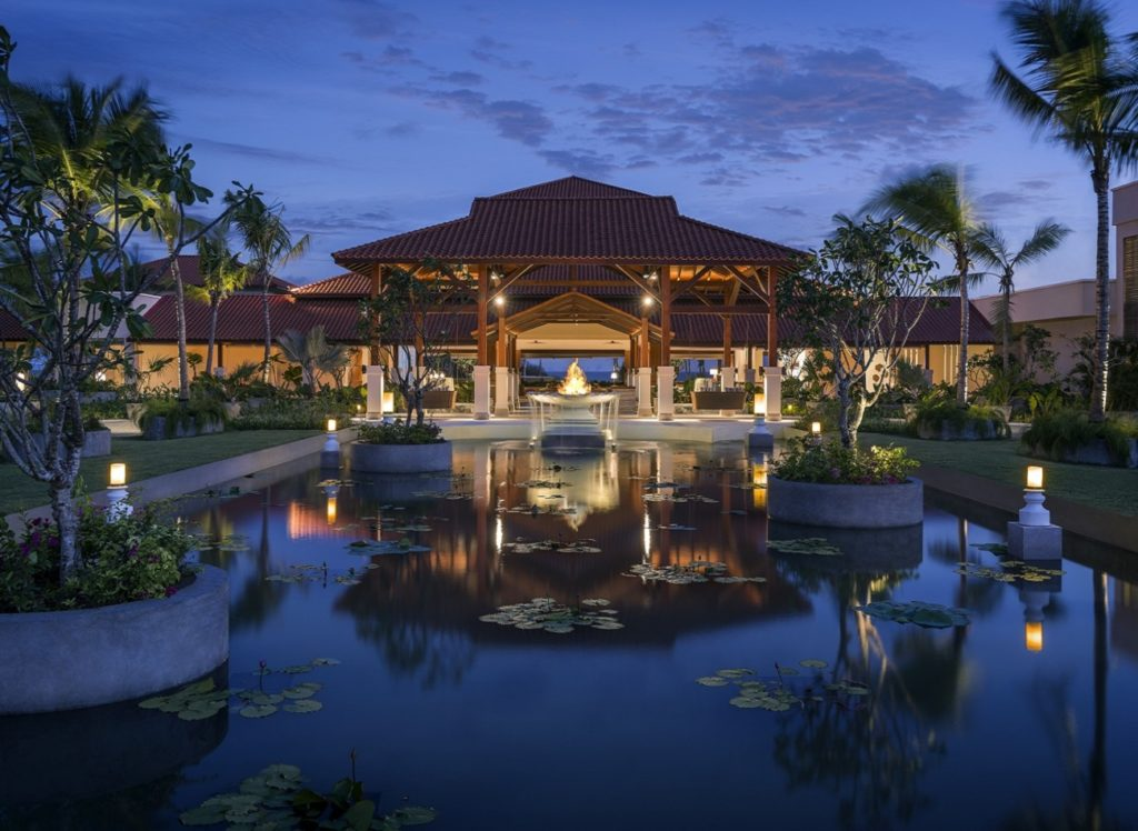 Sri Lanka - Ambalantot - 1567 - Shangri La Hambantota resort main entrance