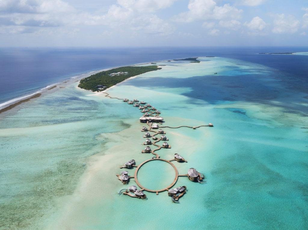 Maldives - Noonu Atoll - 1567 - Soneva Jani aerial view