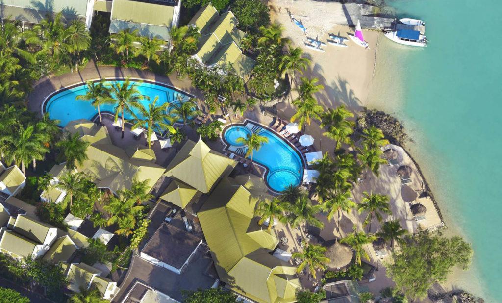 Mauritius - North Coast - 3996 - Veranda Grand Baie Hotel and Spa aerial view