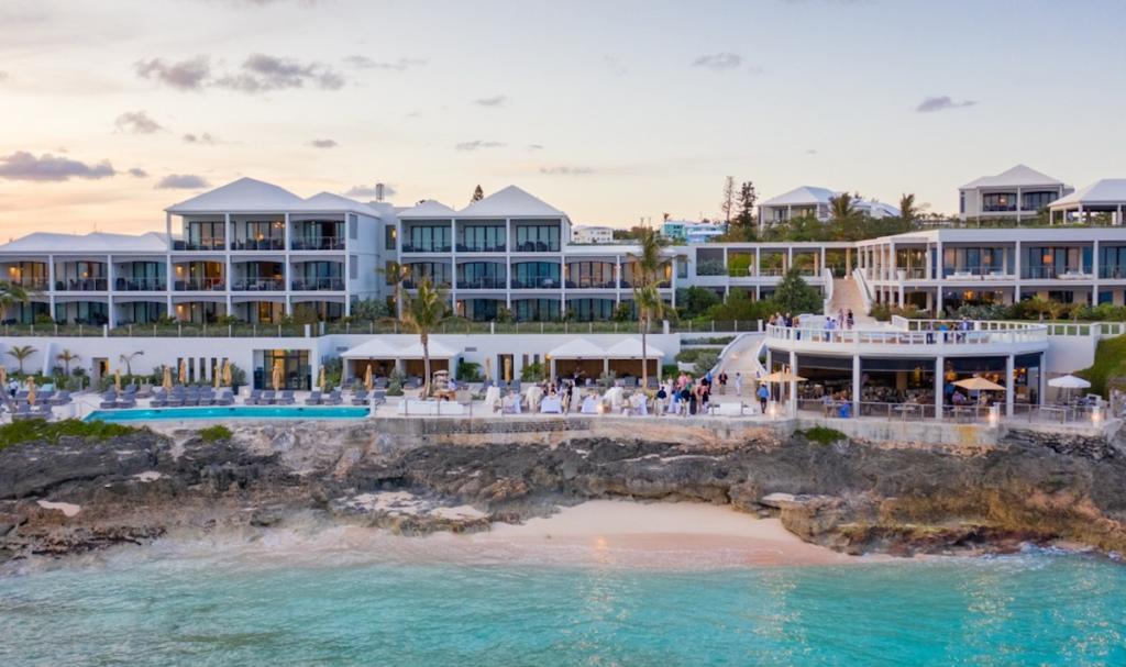 Bermuda - Tucker's Town - The Loren at Pink Beach aerial