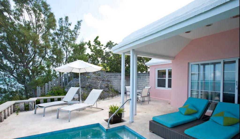 Bermuda - Somerset Village - Cambridge Beaches Resort & Spa pool and seating