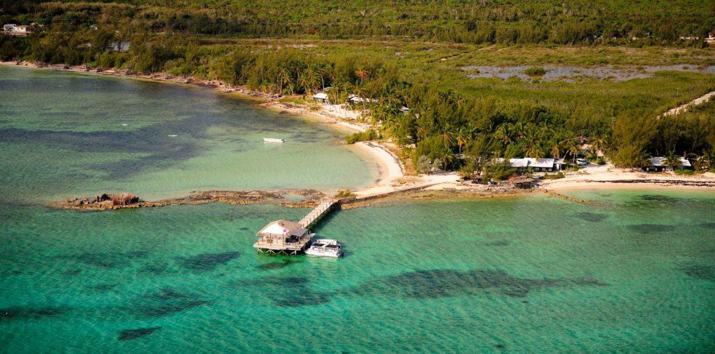 Bahamas - Andros - Small Hope Bay Lodge aerial
