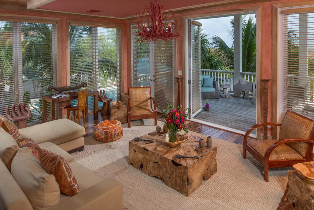 Bahamas - Harbour Island - Pink Sands living area
