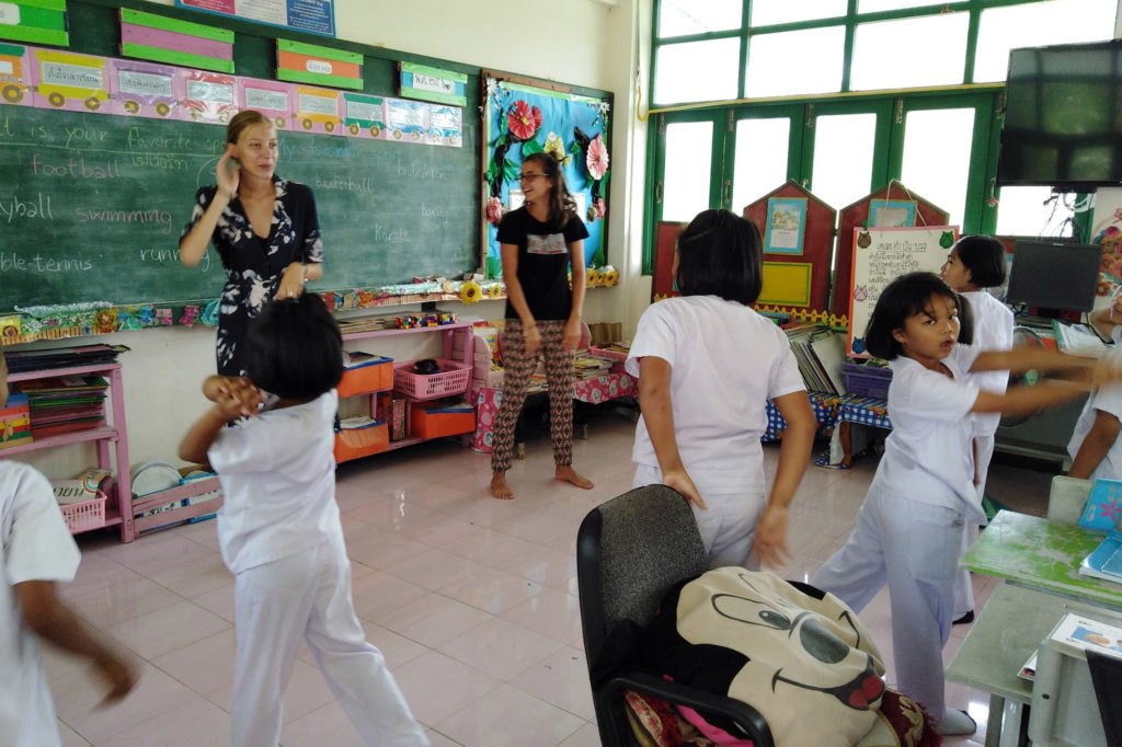 Class Activities Thailand Project
