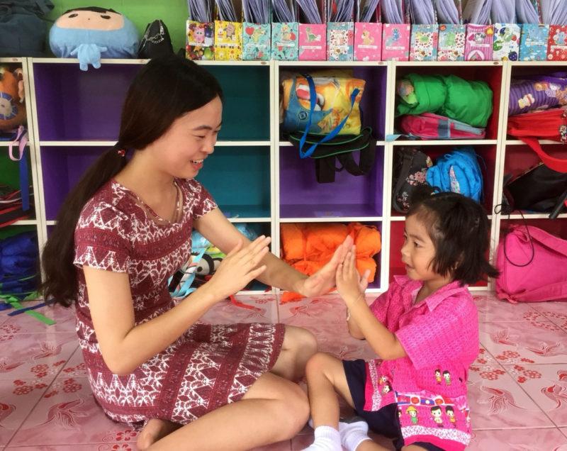 Work with Children in Thailand