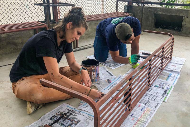 Renovating Schools in Nepal