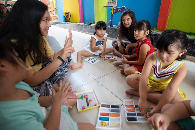 Kindergarten Children Project in Vietnam