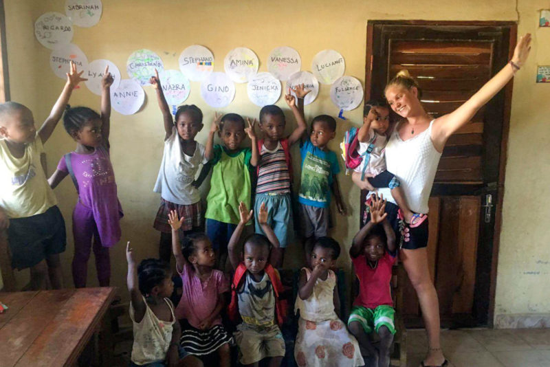 Teach Kids in Madagascar, Africa