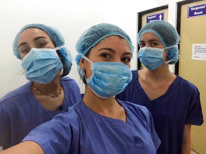 Junior Doctors on Placement in Sri Lanka