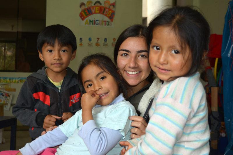 Care Work at Kindergarten in Peru