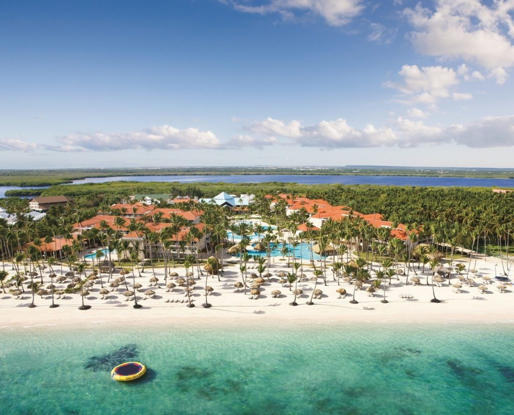 Dominican Rep - Punta Cana - 1566 - Dreams Palm Beach aerial