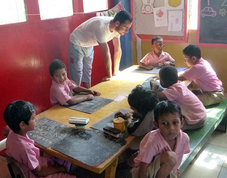 Kindergarten Child Care Project in Fiji