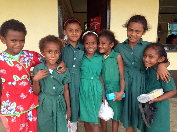Fijian School Kids