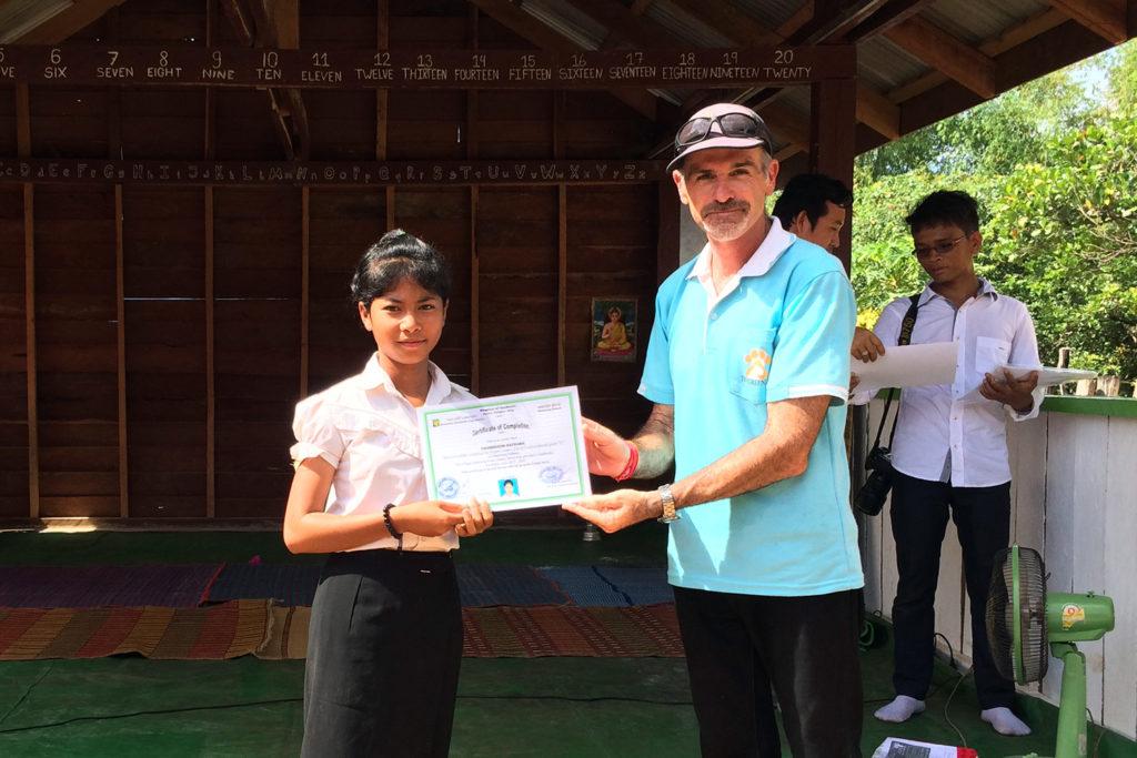 Cambodia School Award Ceremony