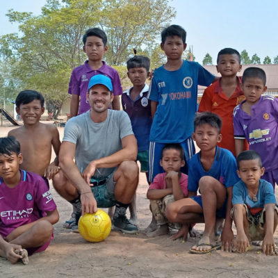 Sports Coaching Volunteer Project in Cambodia, Samraong