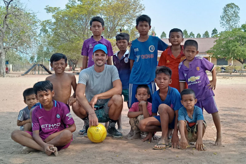 Volunteer Sports Coaching Project in Cambodia