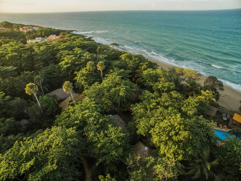 Dominican Rep - Cabarete - 1566 - Natura Cabana aerial view