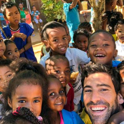 Kindergarten Teaching in Madagascar, Nosy Be