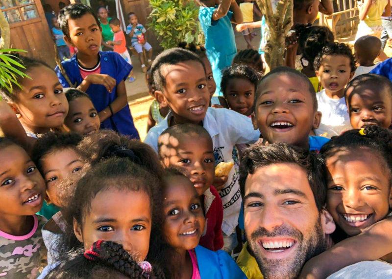 Kindergarten Volunteer Teaching Project Madagascar