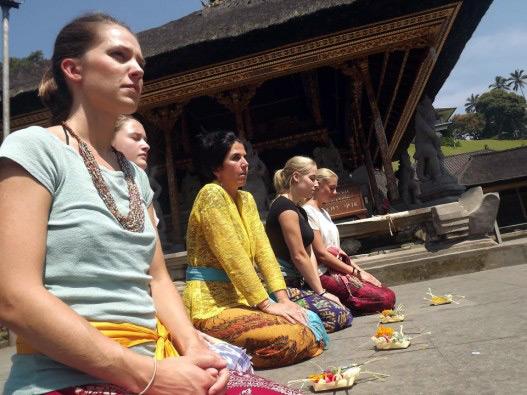 Meditation Session in Bali