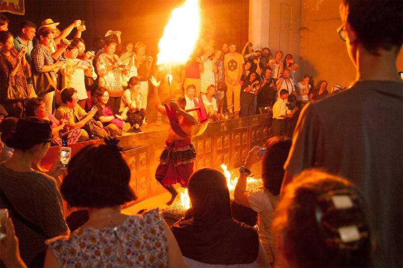 Cultural Dance Show in Sri Lanka