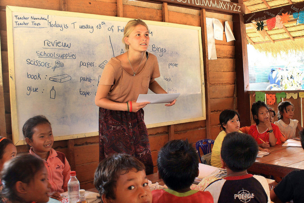 Volunteer Teacher in Cambodia