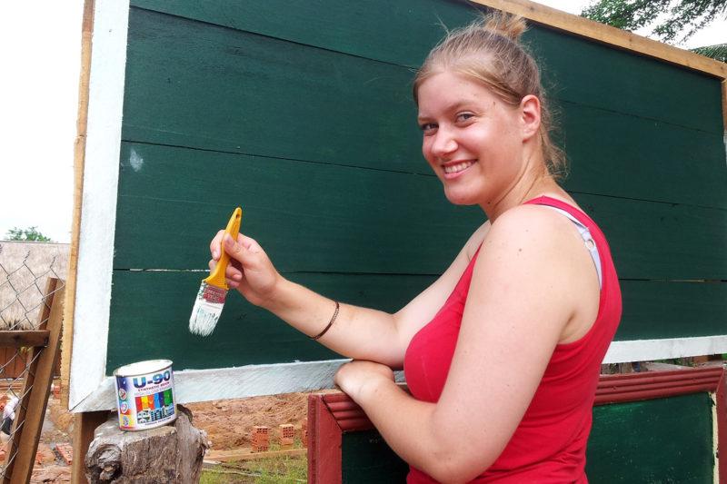 Community Renovation Work in Cambodia