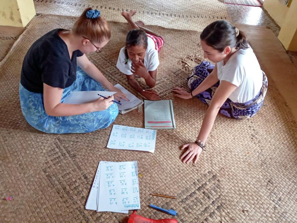 Kids Teaching Project in Fiji
