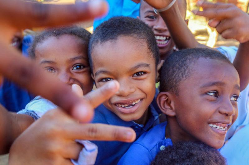 School Kids from Madagascar