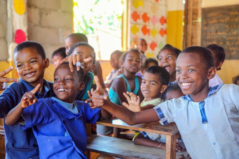 Madagascan School Children