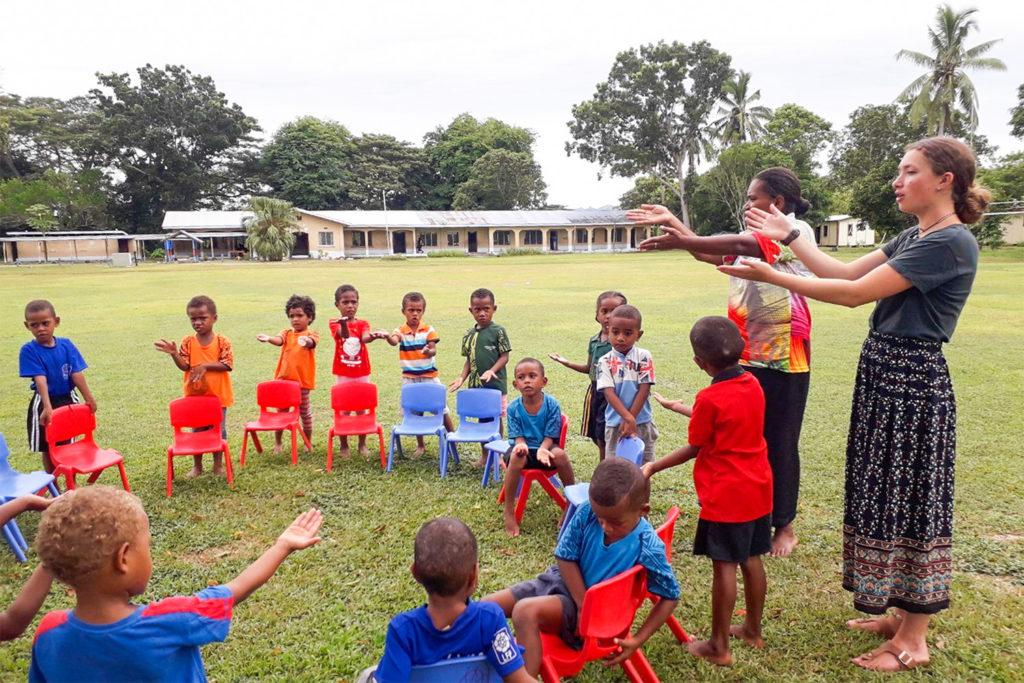 Kindergarten Teaching Project in FIji