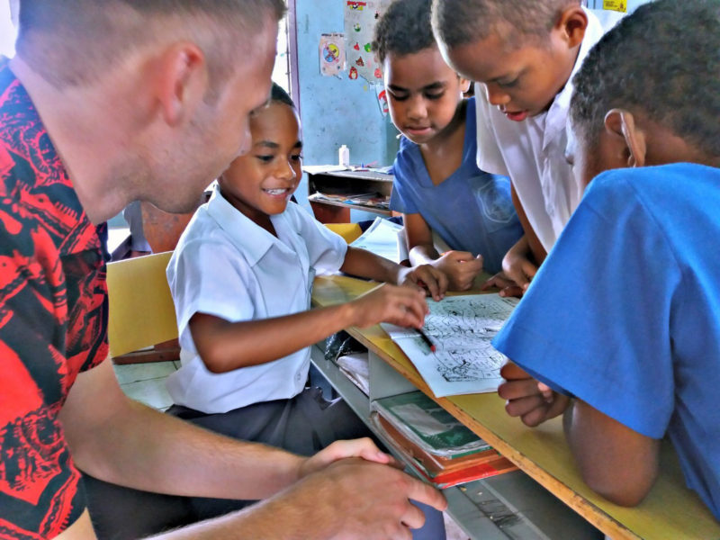 Primary School Teaching Project in Fiji
