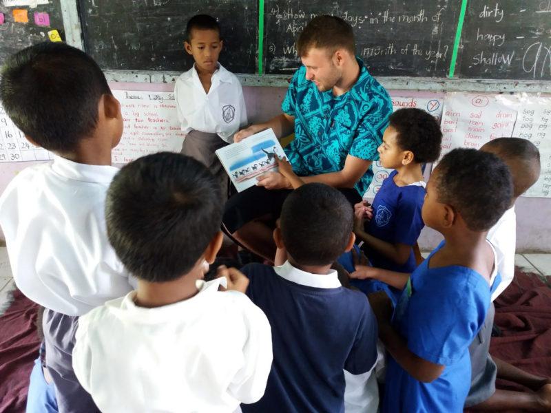Work with Children in Fiji