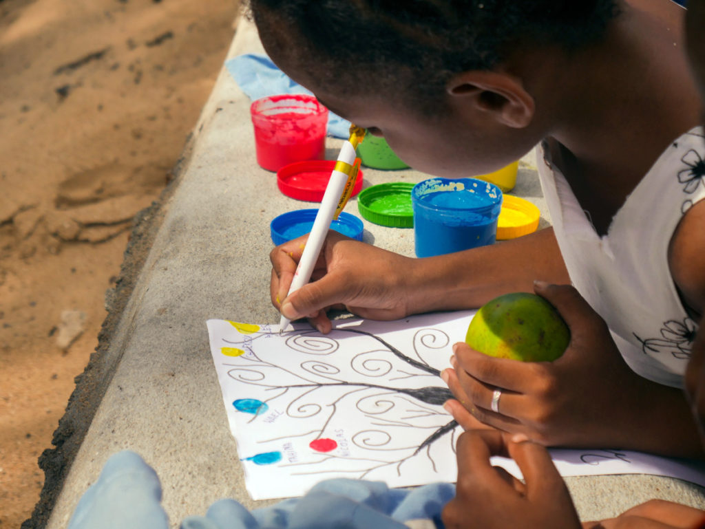 Drawing and Play for Kids in Madagascar