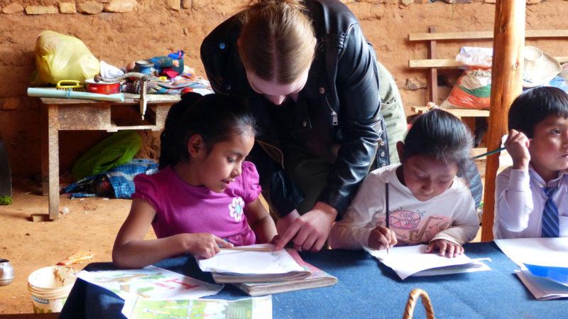 Educating Young Peruvian Kids
