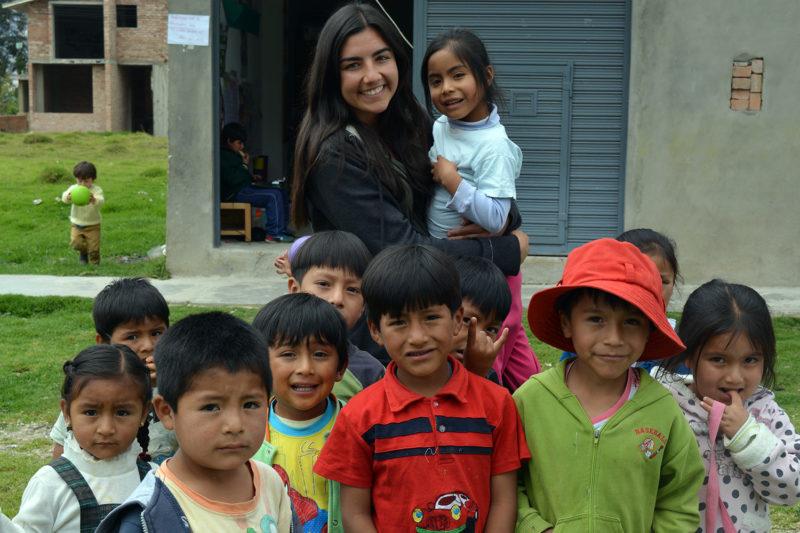 Help at a Kindergarten in Peru