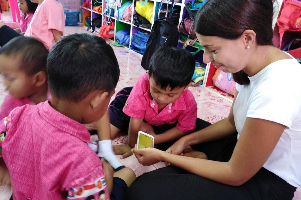 Volunteer Teaching Kindergarten Project