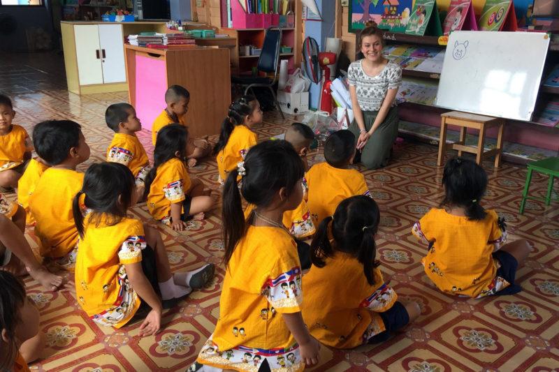 Teaching Volunteer Project in Thailand