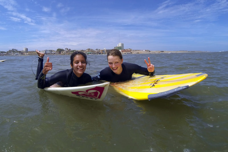 Learn to Surf in Peru