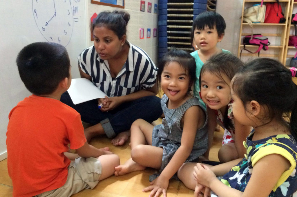 Teaching Project in Vietnam for Young Kids