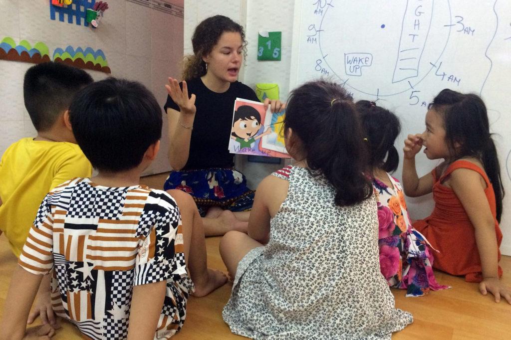 Teaching Vietnamese Kids
