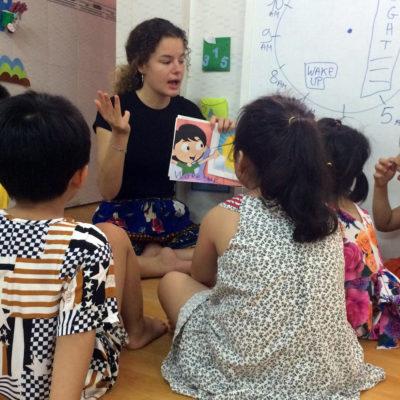 Kindergarten Child Care Worker in Vietnam, Ho Chi Minh