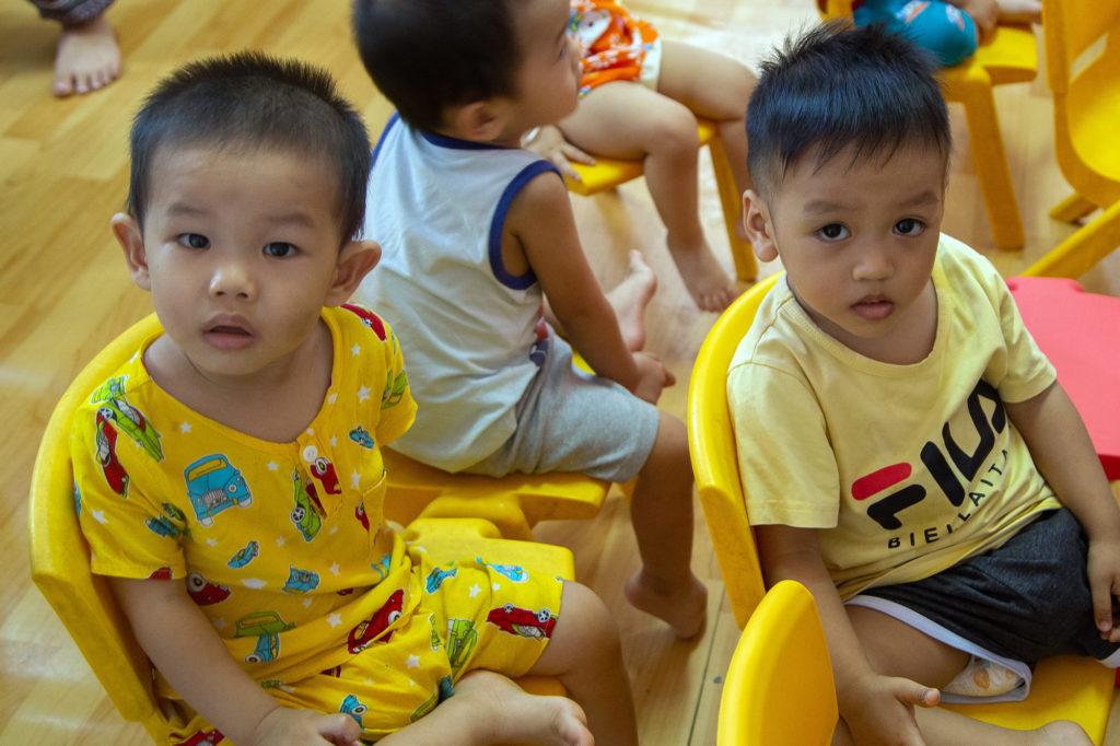 Young Vietnamese Kids